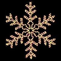 Christmas Snowflakes Stars Light Decorations