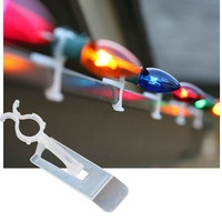 Christmas light clips