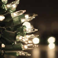 Clear Christmas Mini Lights
