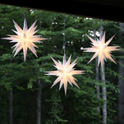 Outdoor Christmas Decorations - Moravian Stars