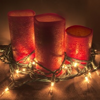 Creative Christmas candles