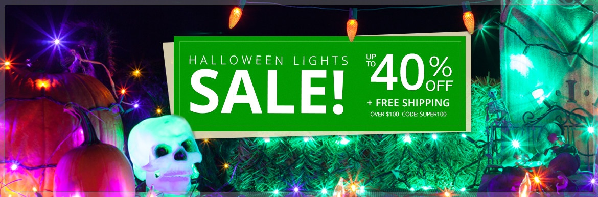 Halloween Lights Sale