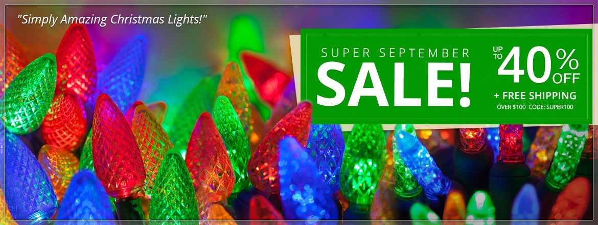 Super September Sale!