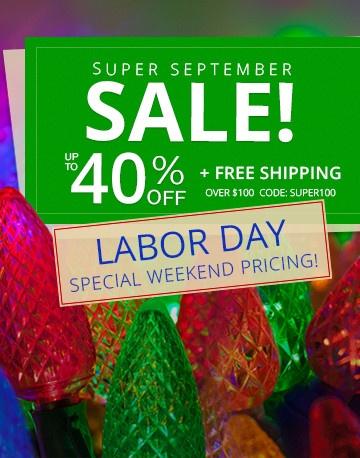 Super September Sale!