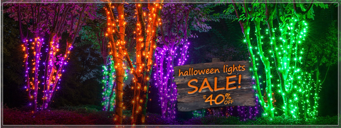 Halloween Light Sale!
