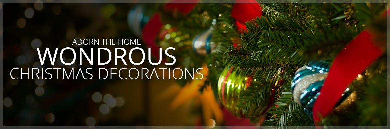 Wondrous Christmas Decorations