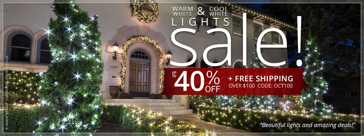 Warm White & Cool White Lights Sale!