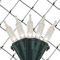 White LED Net Lights