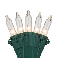 Clear Incandescent Mini Lights