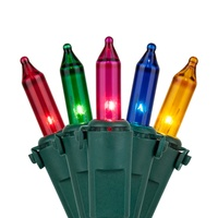multicolor incandescent mini lights