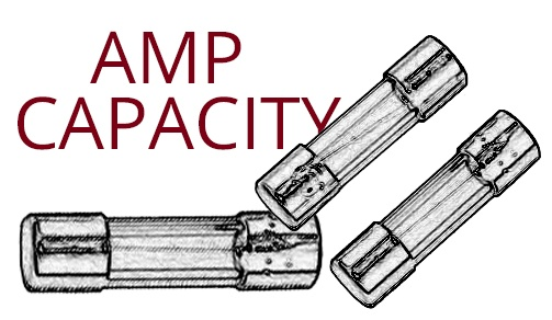 Christmas lights amp capacity