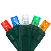 multicolor LED Christmas mini lights