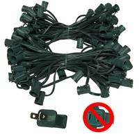 100 foot c9 green wire