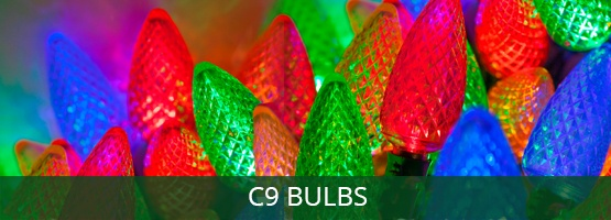 c9 Christmas light bulbs