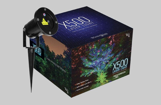 X500 Laser Light