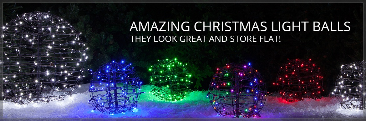 Amazing Christmas Light Balls