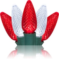 candy cane themed led christmas lights