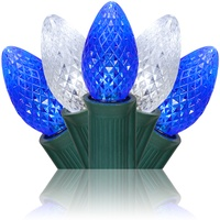 c7 blue and white led christmas lights