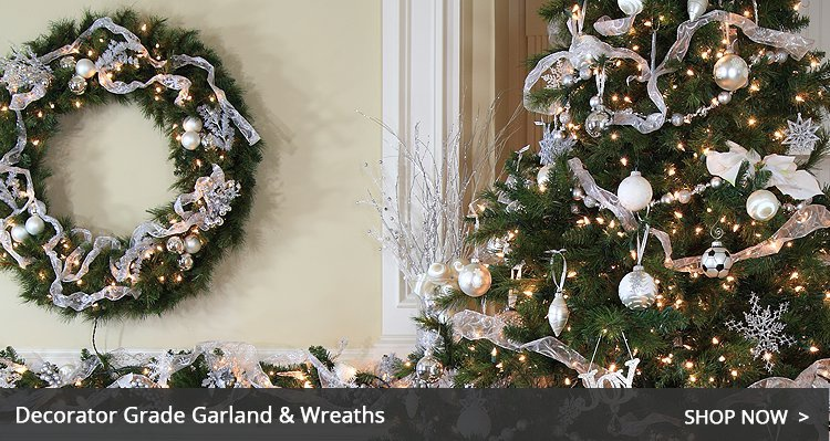 Chritsmas Wreaths and Garland