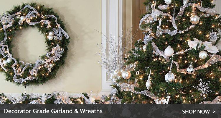 Chritsmas Wreaths and Garland