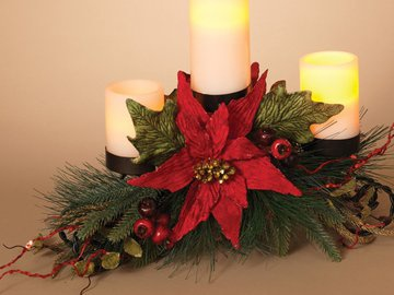 Christmas decorations - Appealing christmas led candles for christmas decorations ...