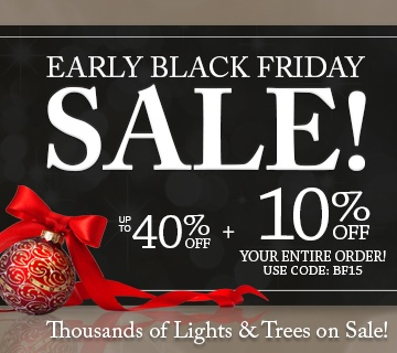 Early Black Friday Sale!