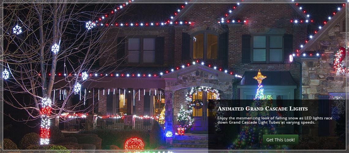 animated roof lights