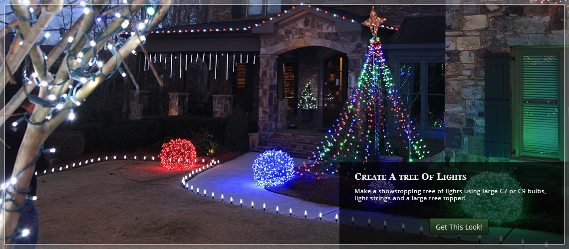 Outdoor christmas yard decorating ideas Diy outside christmas decorating ideas