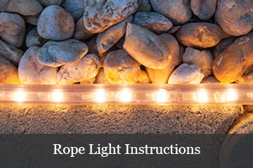 rope light instructions