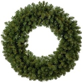 unlit Christmas wreaths
