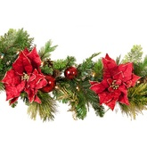 predecorated Christmas garland