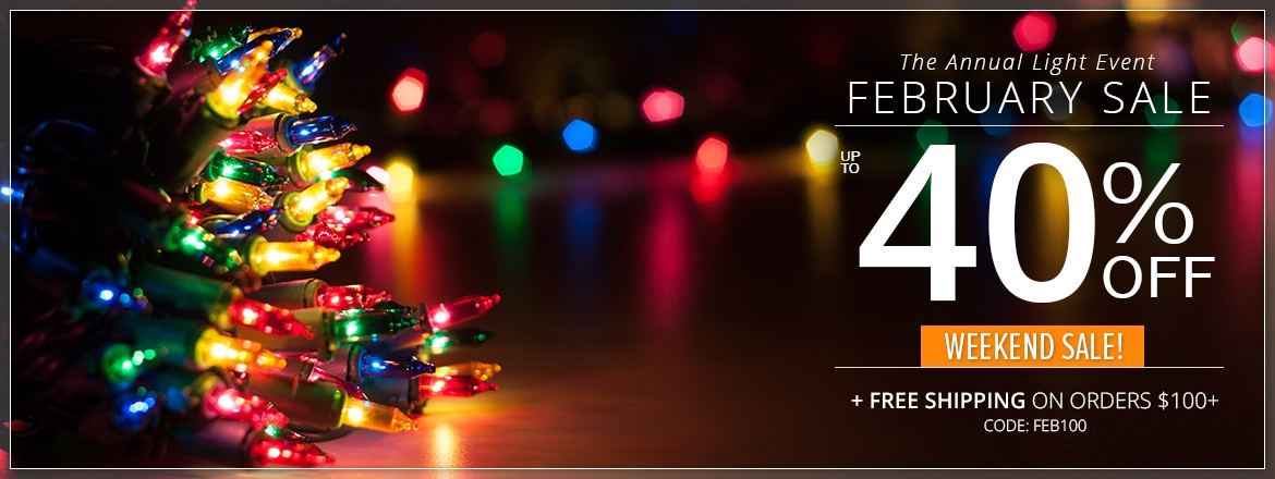 The Annual Light Event, Christmas Lights Sale!