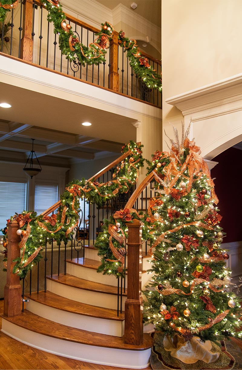 foyer Christmas tree ideas