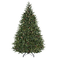 Colorado Pine Prelit Christmas Tree