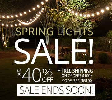 Spring Lights Sale!