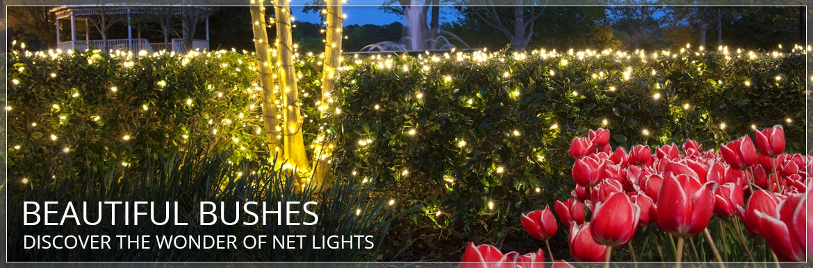 Net Lights and Tree Wraps