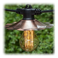 Clear Vintage Style Patio Bulb