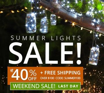Summer Lights Sale!