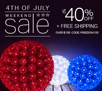 4th of July Weekend Sale!