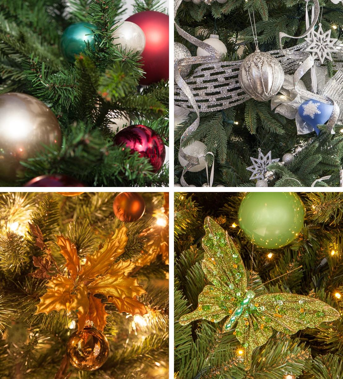 Christmas Tree Color Schemes and Decorating Ideas