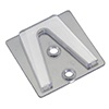 Parapet Clips Can Be Used With Shingle Tabs to Hang Christmas Lights on Flat Surfaces