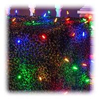 Multicolored Net Lights