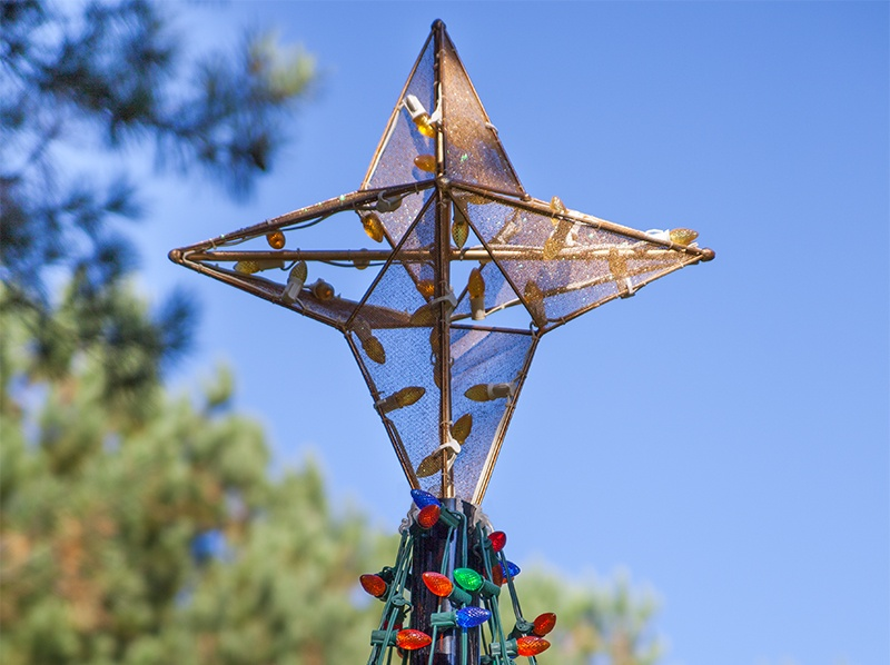 3' Commercial Grade Nativity Star Tree Topper for Large Trees
