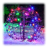 Multicolor LED Lighted Sphere