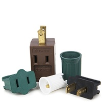 Christmas Light Adapters and Sockets