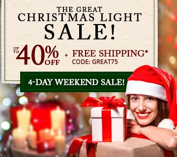 The Great Christmas Lights Sale
