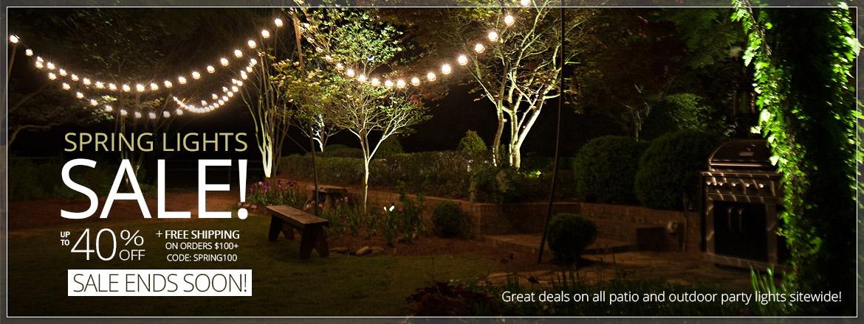Spring Lights Sale!