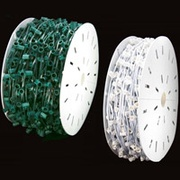 C7 Commercial Christmas Light Spools