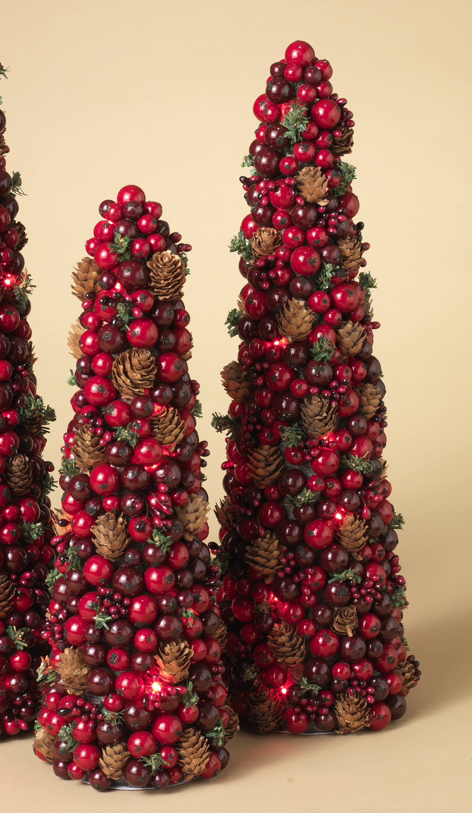Christmas Tree Decoration Berries : Collectibles nativity sets gifts quot large berry cone