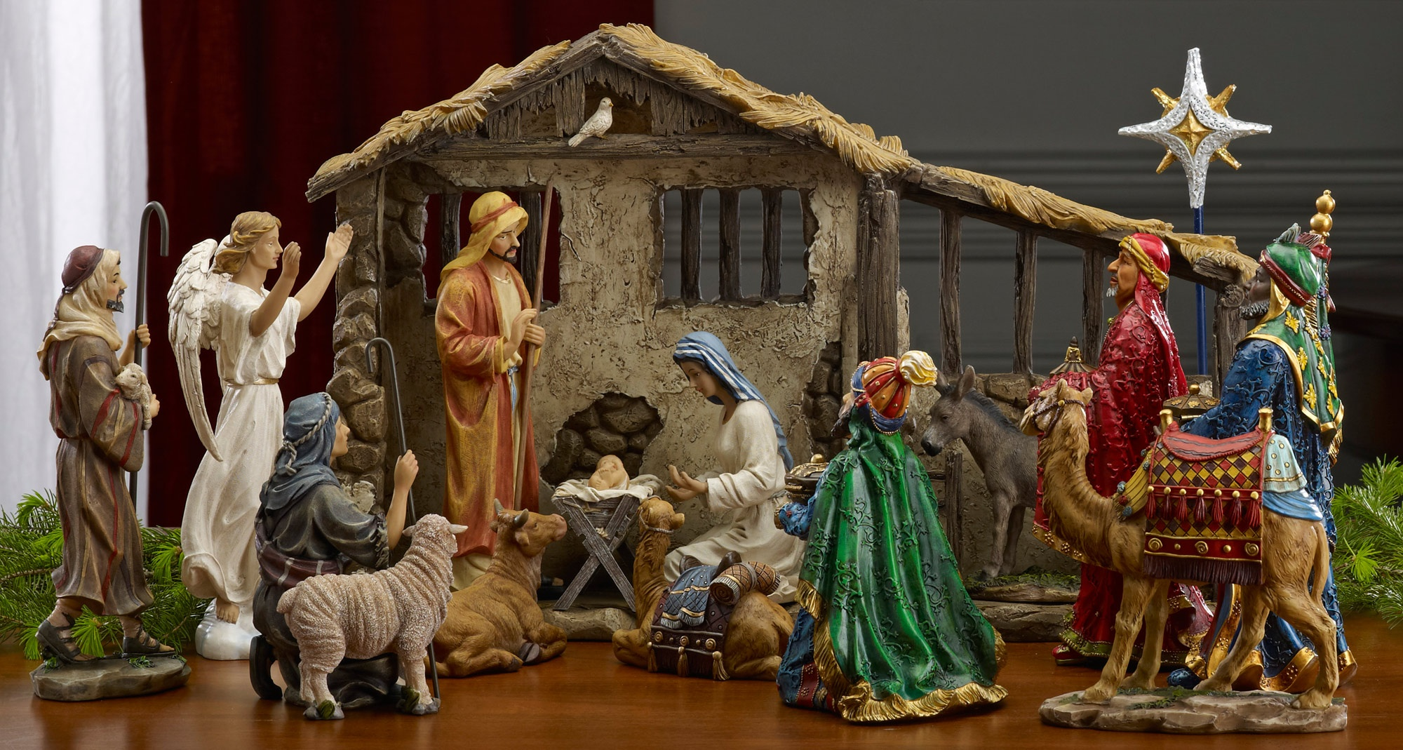 Collectibles Nativity Sets Amp Gifts 12 75 Quot Christmas